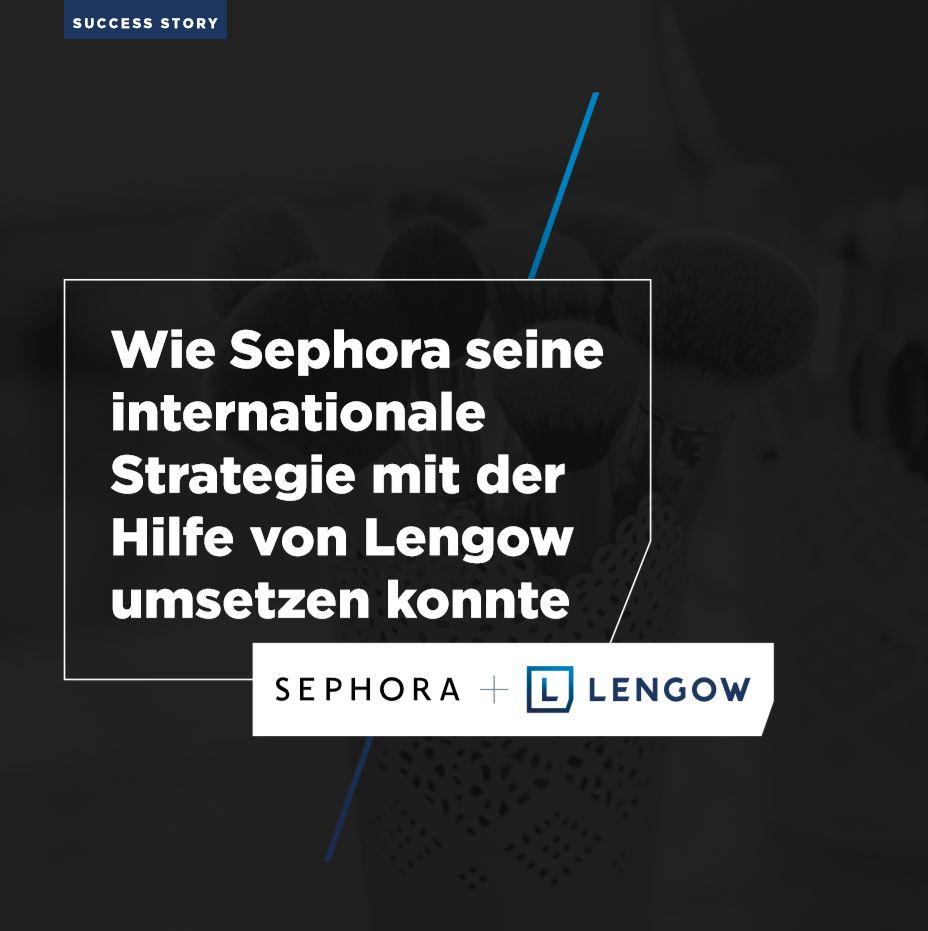 Wie Sephora seine internationale Strategie umsetzen konnte